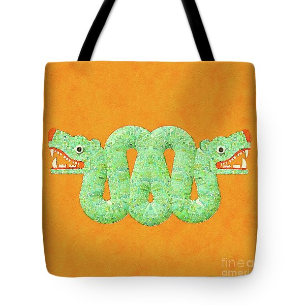 Aztec Serpent Tote Bag