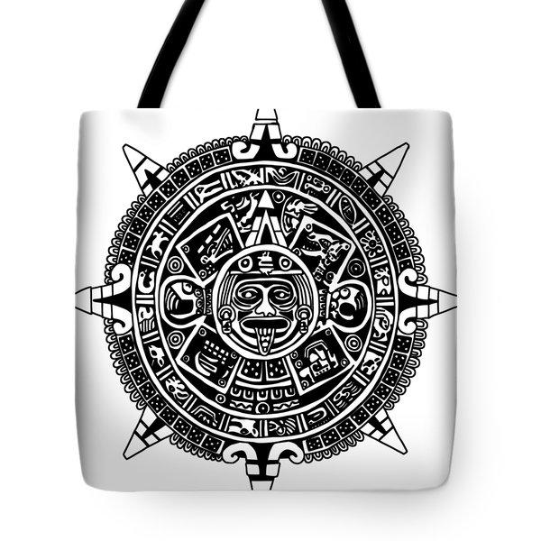 Aztecs Calendar Tote Bag