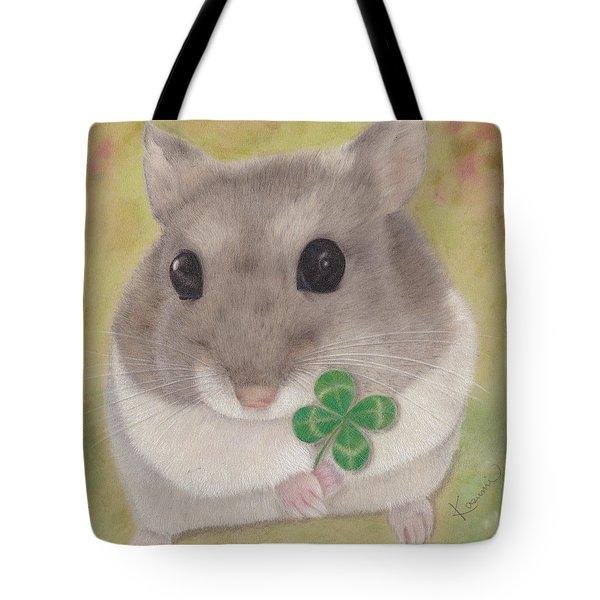 Azuki And A Four-leaf Clover Tote Bag