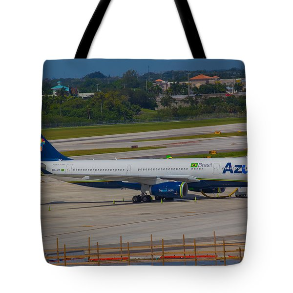 Azul Barzillian Airline Tote Bag