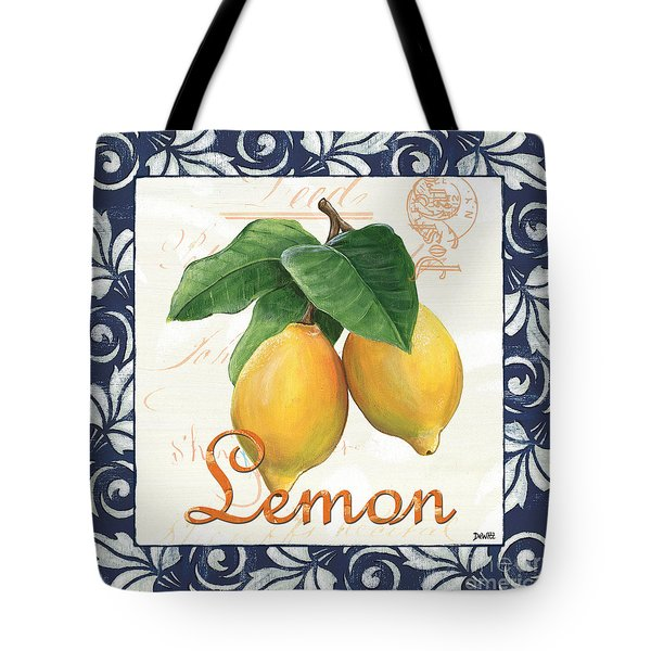 Azure Lemon 1 Tote Bag