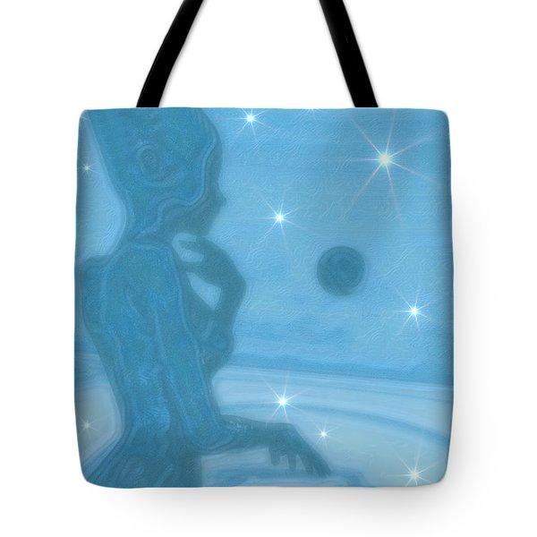 Azure Tote Bag
