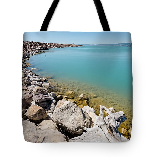 Azure Waters Tote Bag