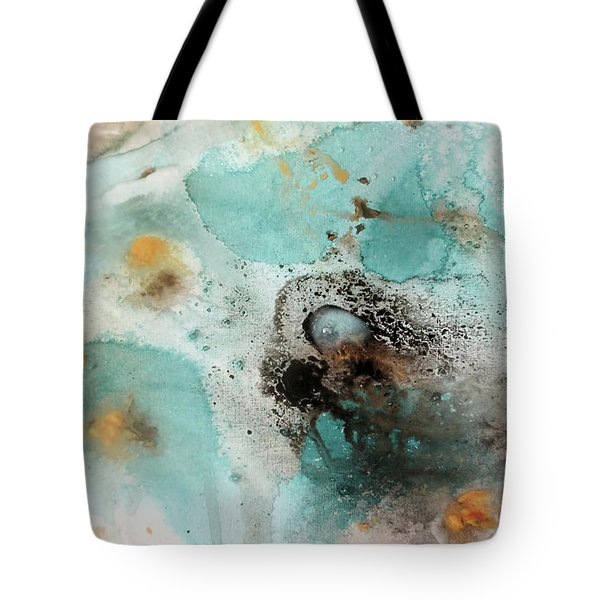 Azure Waters By V.kelly Tote Bag