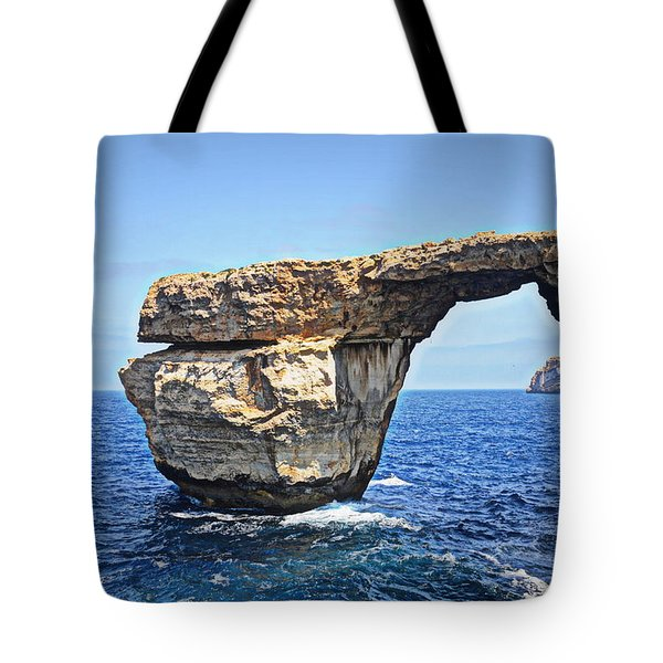 Azure Window Tote Bag