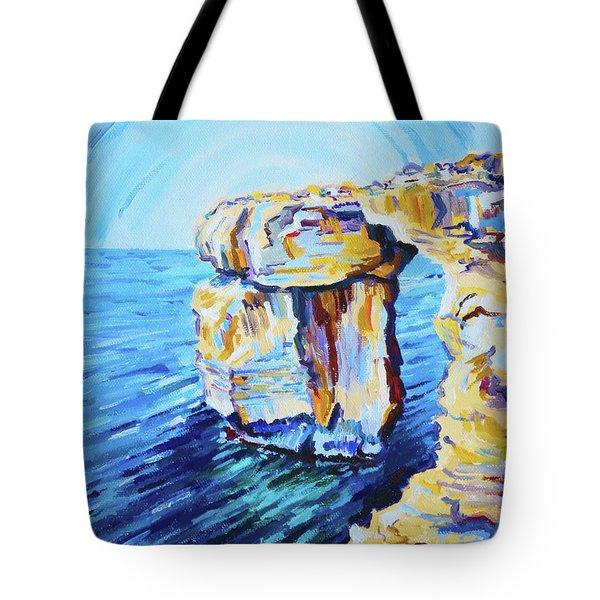 Azure Window Tote Bag