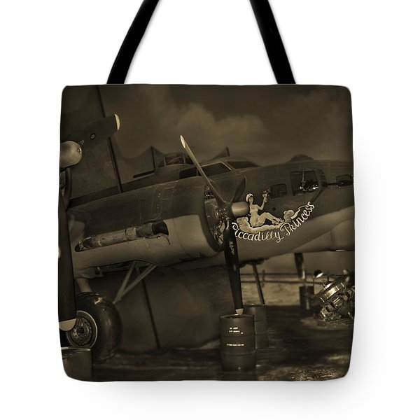 B - 17 Field Maintenance  Tote Bag