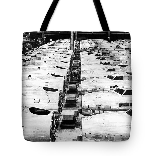 B-17 Fortress Factory Tote Bag