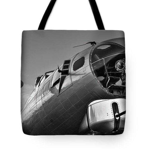 B-17 Nose Tote Bag