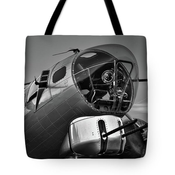 B-17 Nose Tote Bag