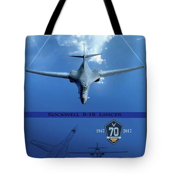 B-1b Breaking Barriers Tote Bag