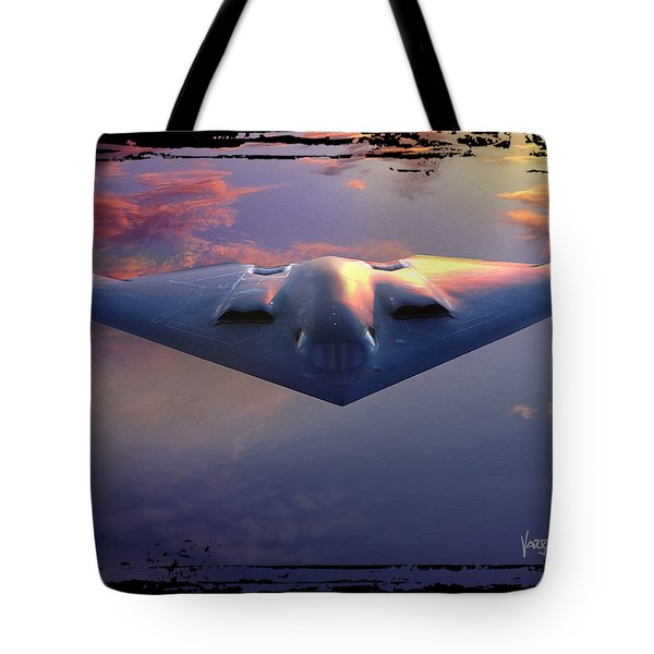 B-2 Spirit No. 3 Tote Bag