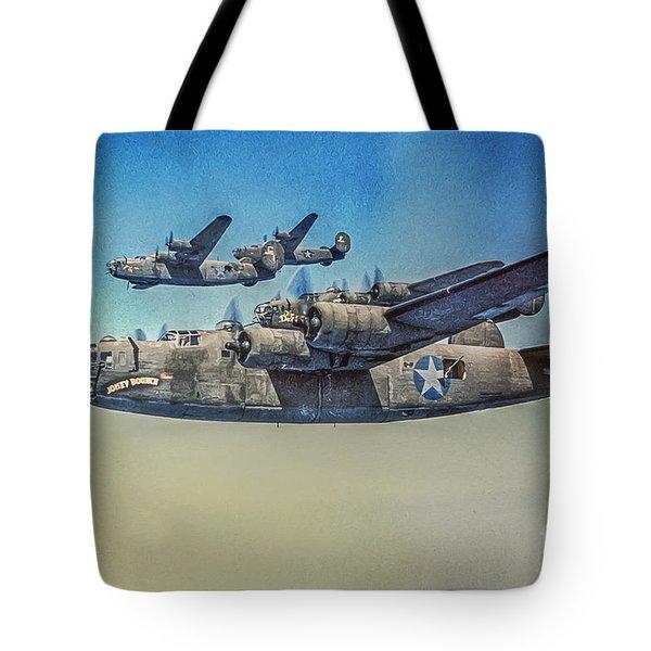 B-24 Liberator Bomber Tote Bag