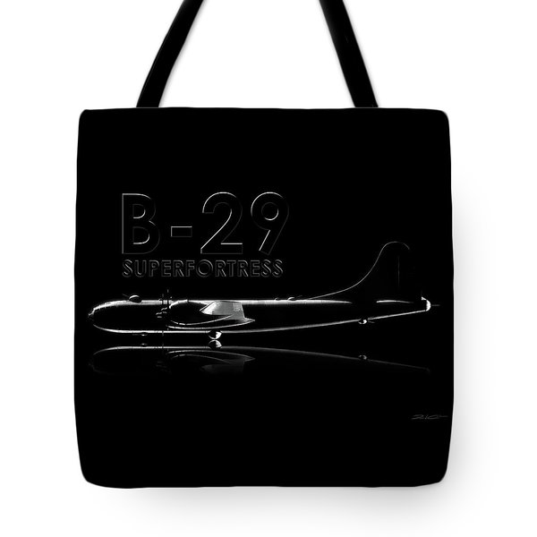 B-29 Superfortress Tote Bag by David Collins