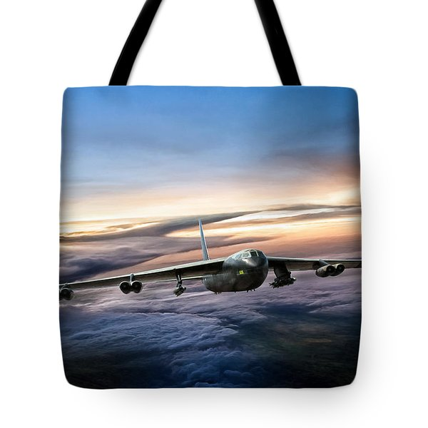 B-52 Inbound Tote Bag by Peter Chilelli