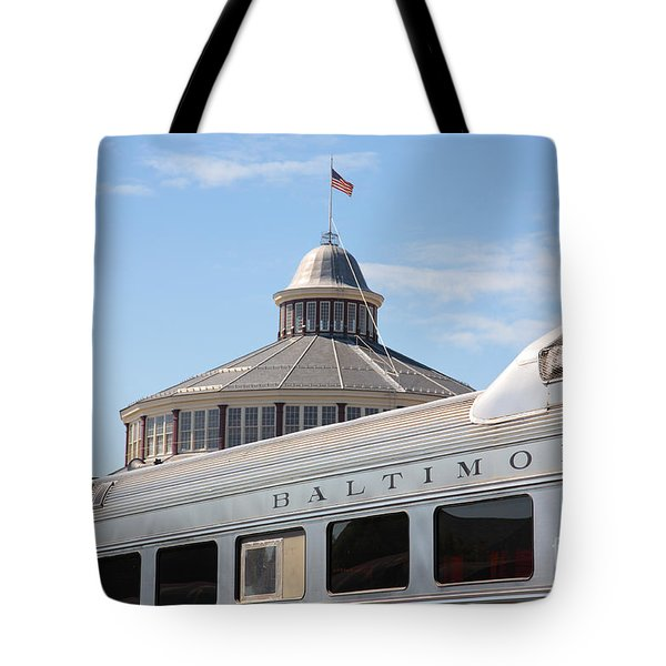 B And O Railroad Museum In Baltimore Maryland Tote Bag