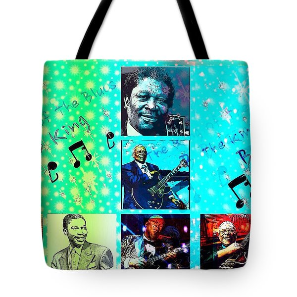 B B King Of The Blues  Tote Bag