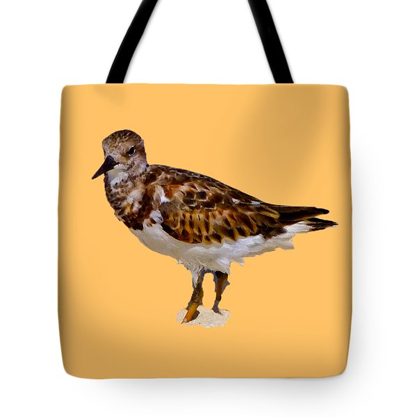 Tote Bag featuring the digital art B Bird by Francesca Mackenney