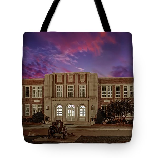 B C H S At Dusk Tote Bag