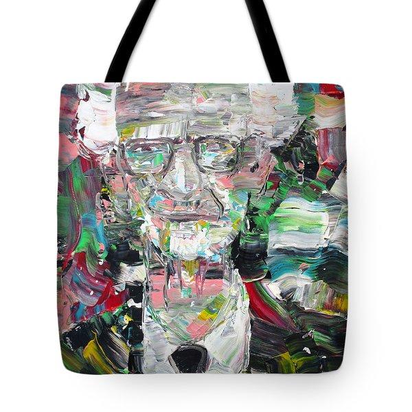 B. F. Skinner Portrait Tote Bag
