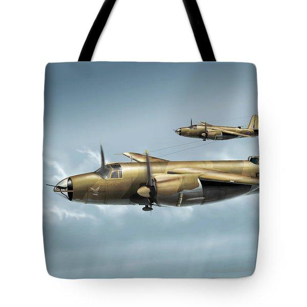 B26 Mk Tote Bag by Daniel Uhr