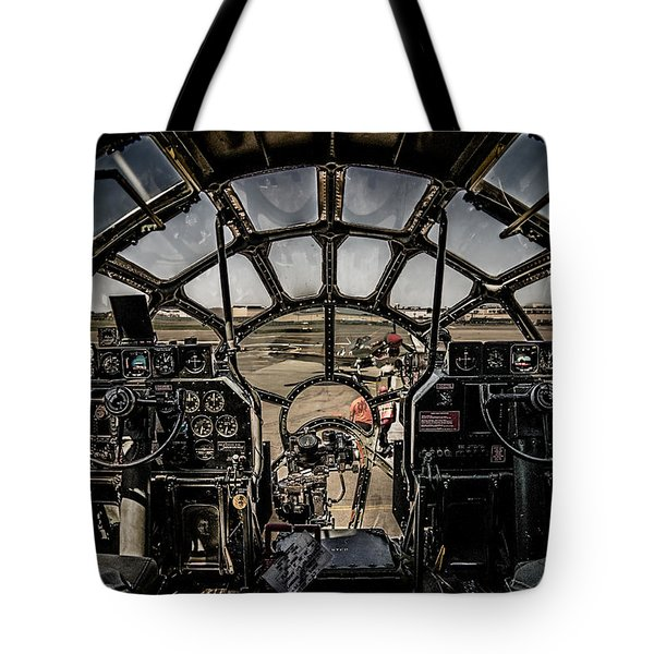 B29 Superfortress Fifi Cockpit View Tote Bag