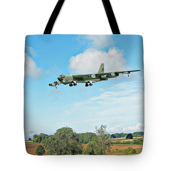 B52 Stratofortress -2 Tote Bag