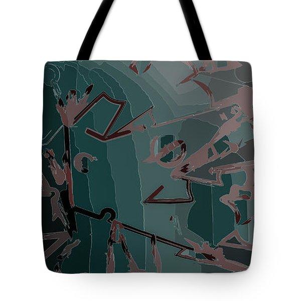 Babble Tote Bag by Moustafa Al Hatter