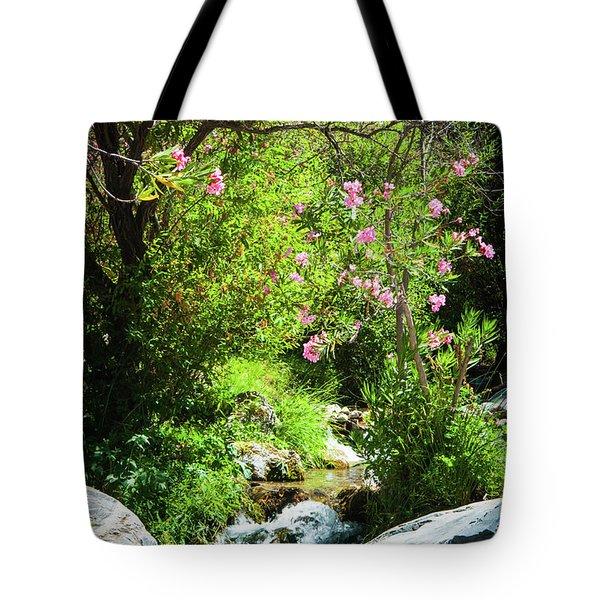 Babbling Brook Tote Bag
