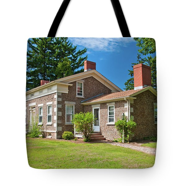 Tote Bag featuring the photograph Babcock House Museum 2250 by Guy Whiteley