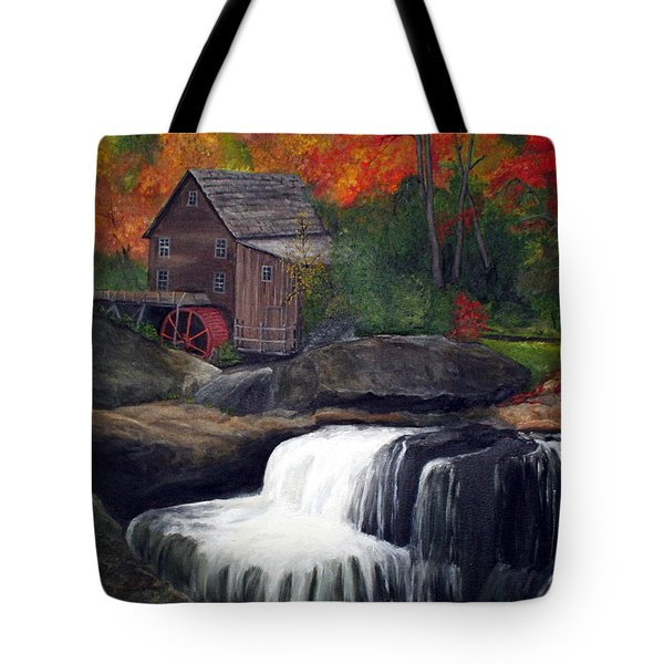 Babcock Mill Tote Bag by Timothy Smith