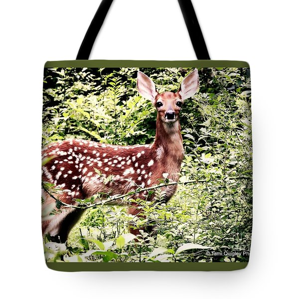Babe In The Woods Tote Bag