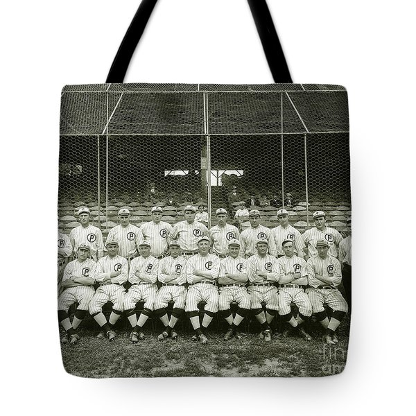 Babe Ruth Providence Grays Team Photo Tote Bag