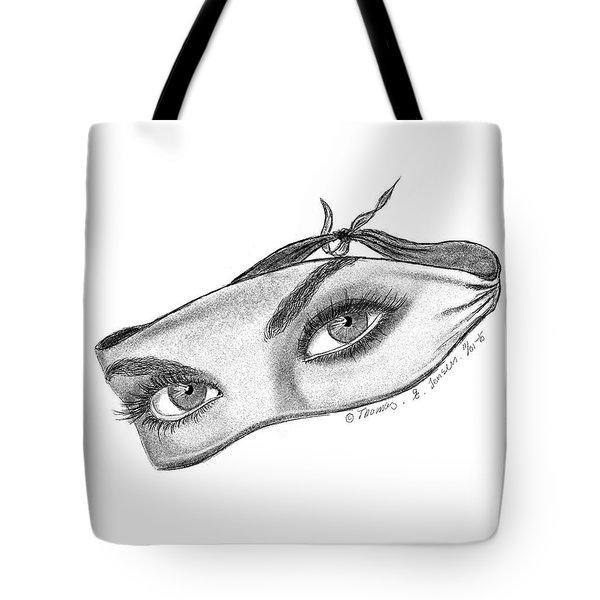 Babemask Tote Bag