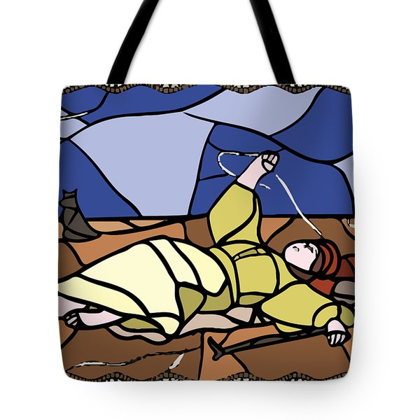 Babie Lato Stained Glass Version Tote Bag