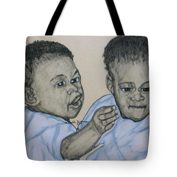 Babies Tote Bag