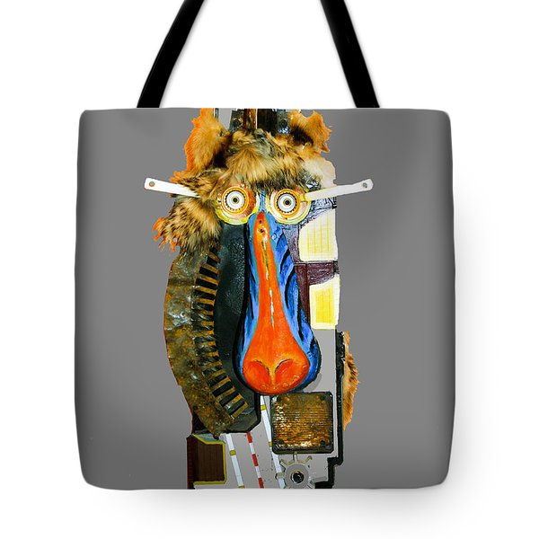 Baboon  Tote Bag by Bill Thomson