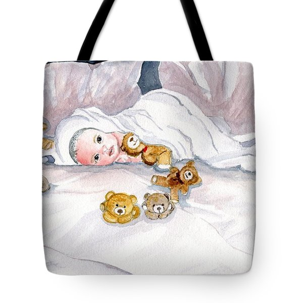 Baby And Friends Tote Bag by Melly Terpening