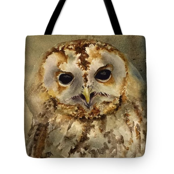 Baby Barred Owl Tote Bag