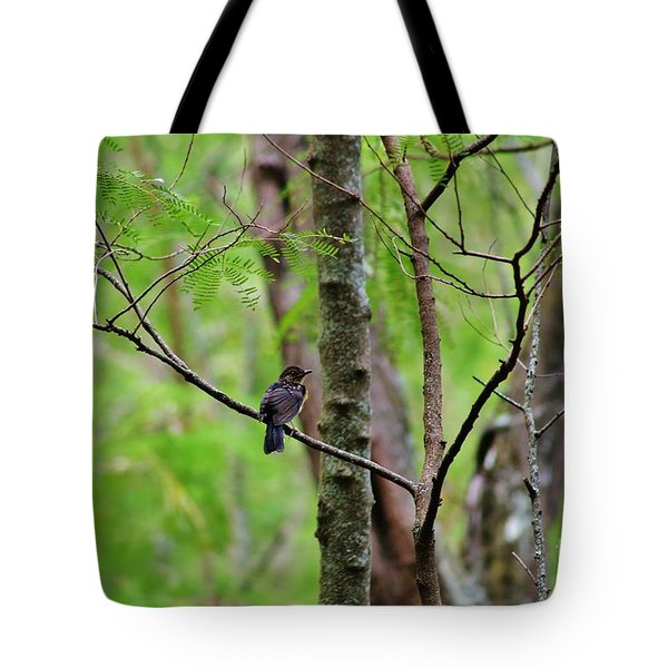 Tote Bag featuring the photograph Baby Bird by Craig Wood