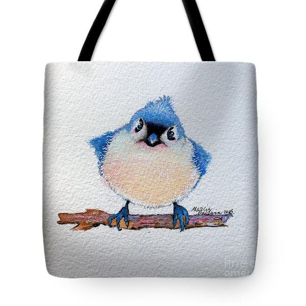 Baby Bluebird Tote Bag