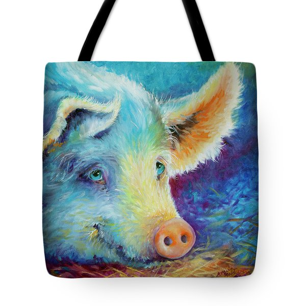 Baby Blues Piggy Tote Bag