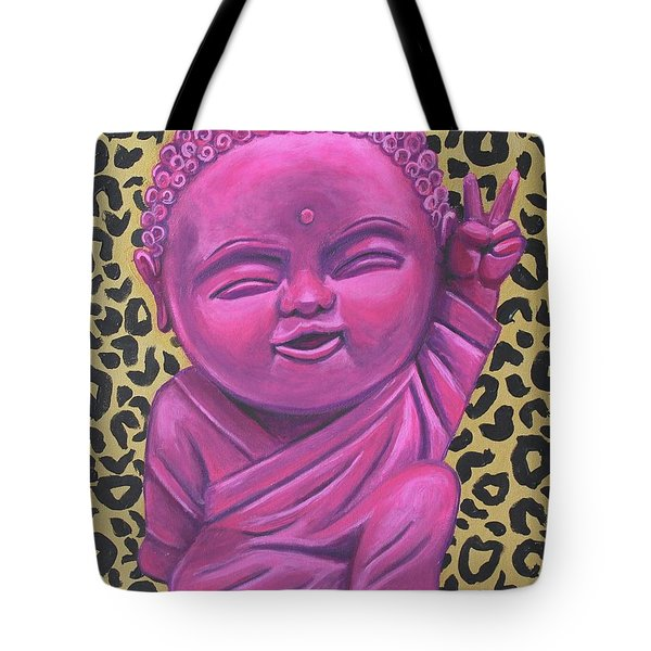 Baby Buddha 2 Tote Bag by Ashley Price
