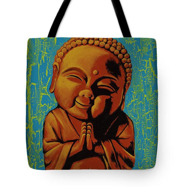 Baby Buddha Tote Bag by Ashley Price