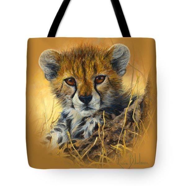 Baby Cheetah  Tote Bag