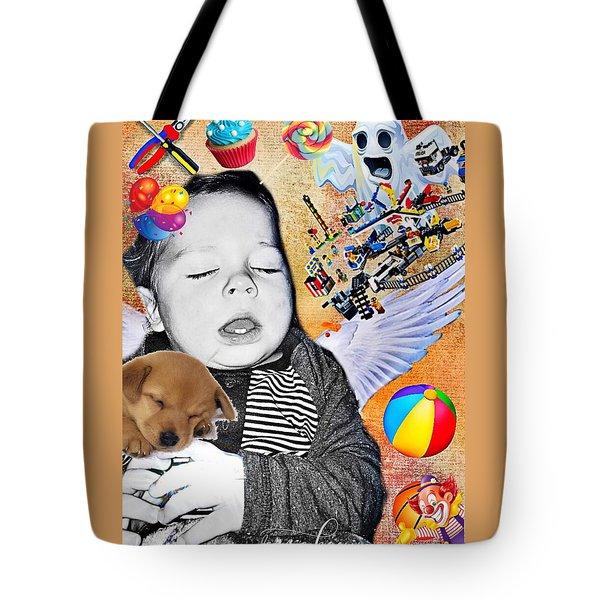 Baby Dreams Tote Bag by Vennie Kocsis