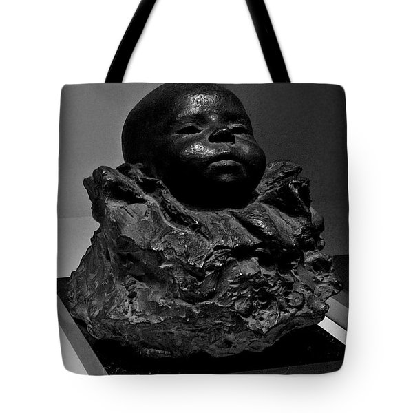 Baby Face Stone Art Tote Bag