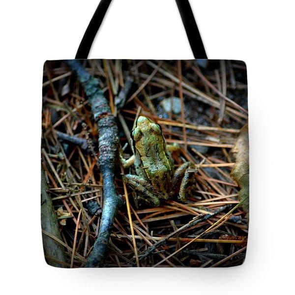Baby Frog Tote Bag