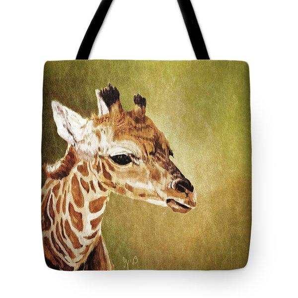 Baby Giraffe Tote Bag