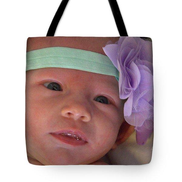 Baby Hughes Tote Bag